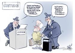 Malcolm Turnbull Customs NYC