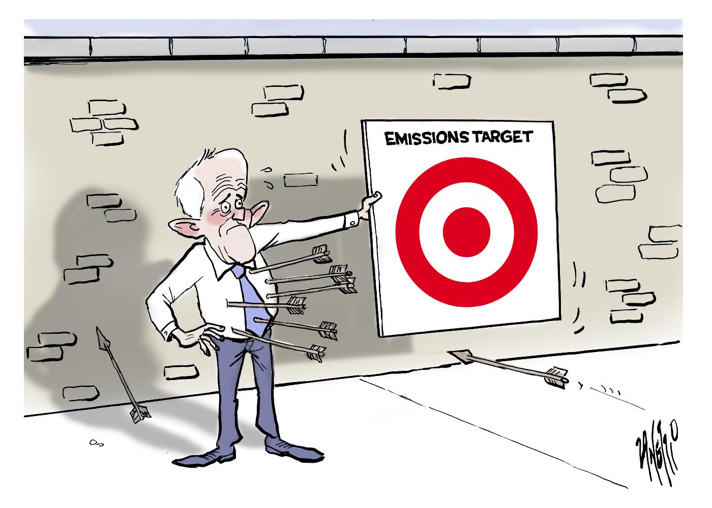 Malcolm Turnbull Emissions Target