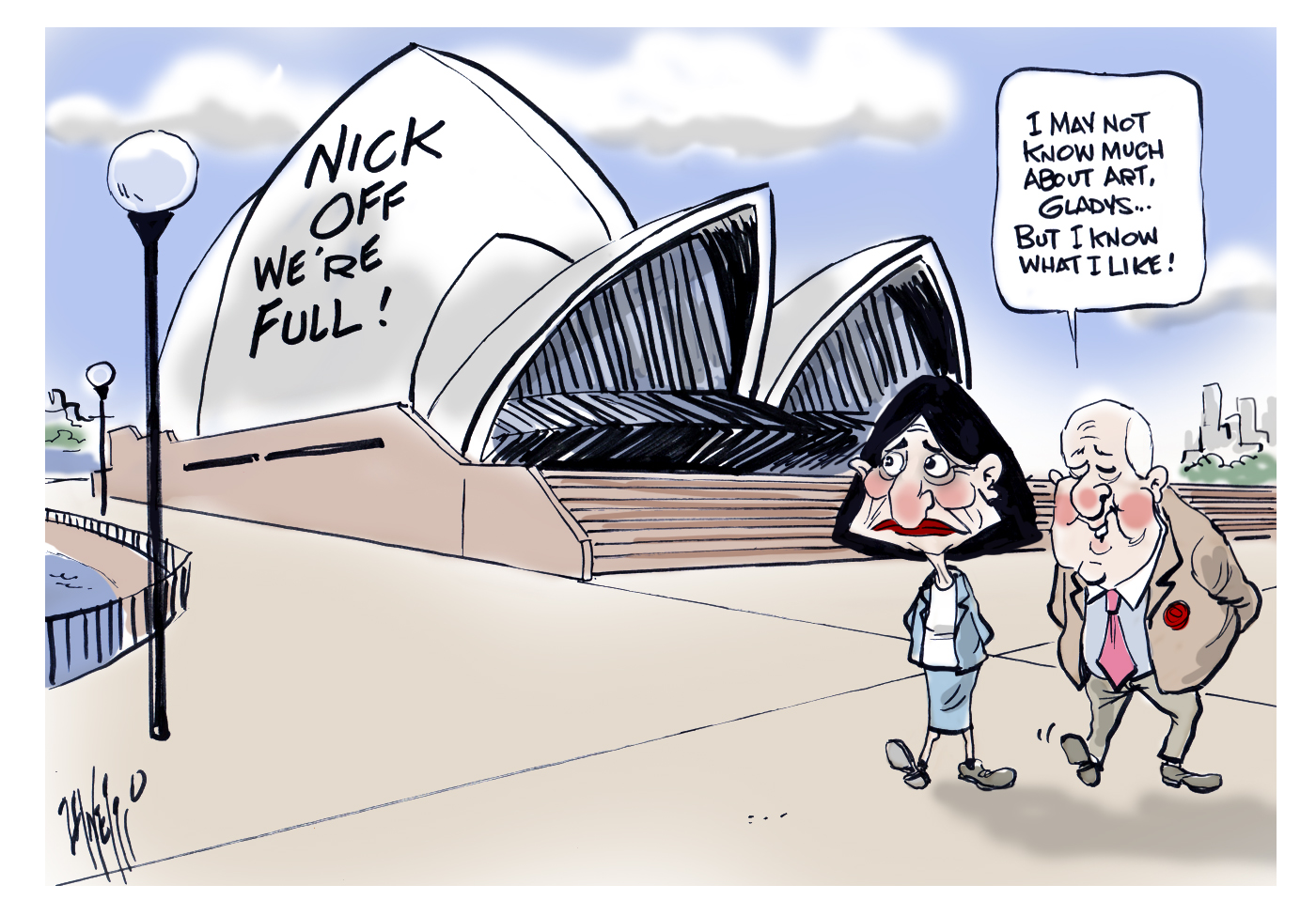 Sydney Opera House Alan Jones