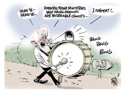 Malcolm Turnbull Miserable Ghost