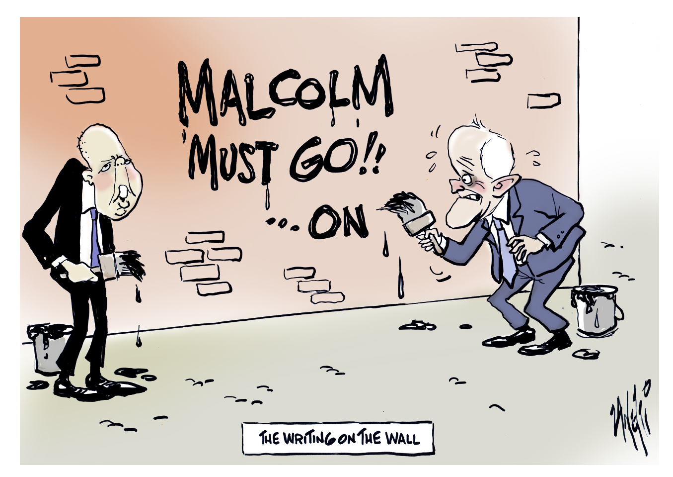 Macolm Turnbull Second Challenge