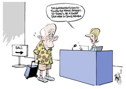 Malcolm Turnbull Bali