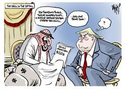 Saudi Arms Deal Khashoggi