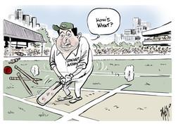 David Peever Cricket Australia