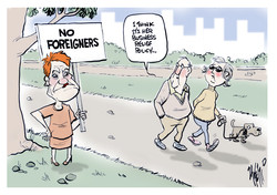 Pauline Hanson migration rate