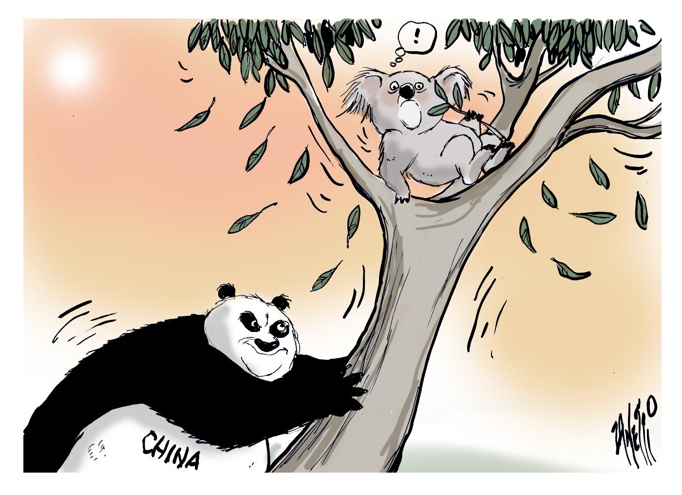 China influence in Australia