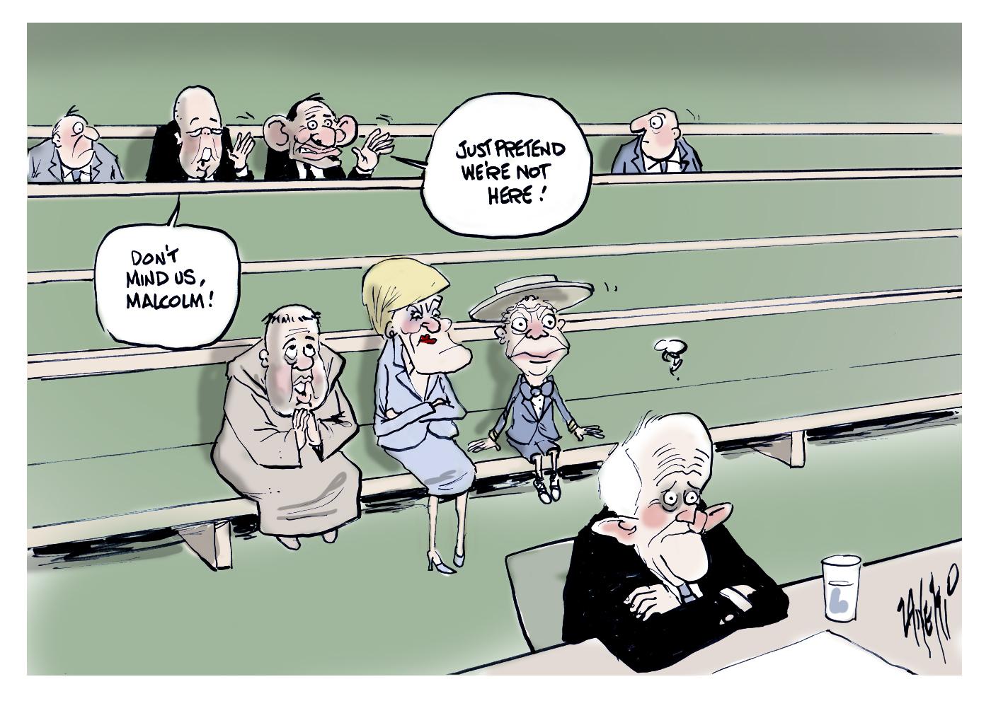 Libs Leadership Spill Malcolm