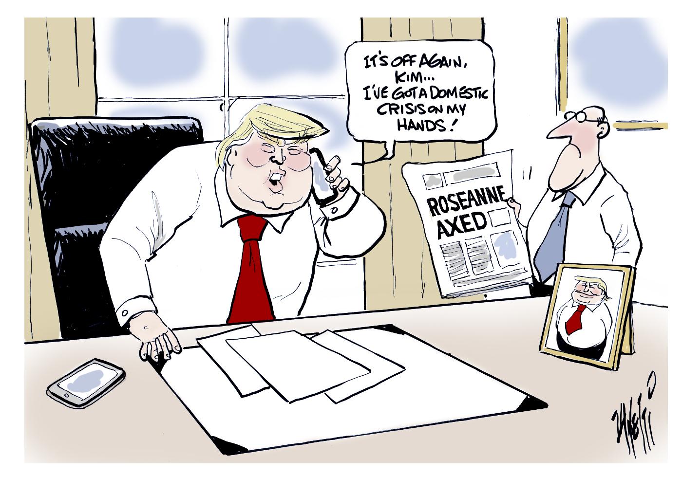 Donald Trump Rosanne axing