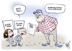 Children Climate Chage Protest