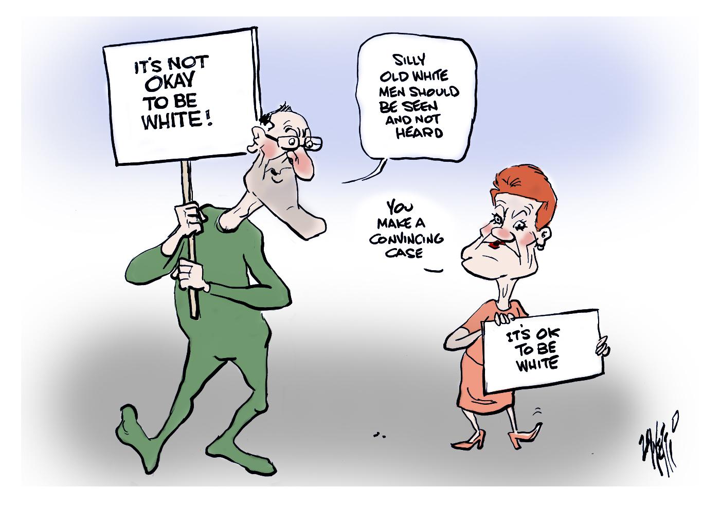 Ok To Be White Pauline Hanson