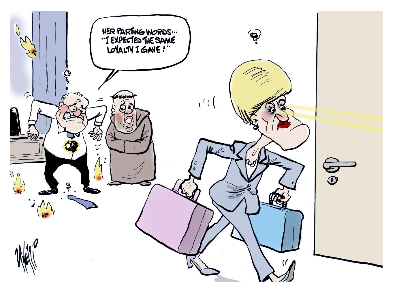 Foreign Minister Julie Bishop Resign