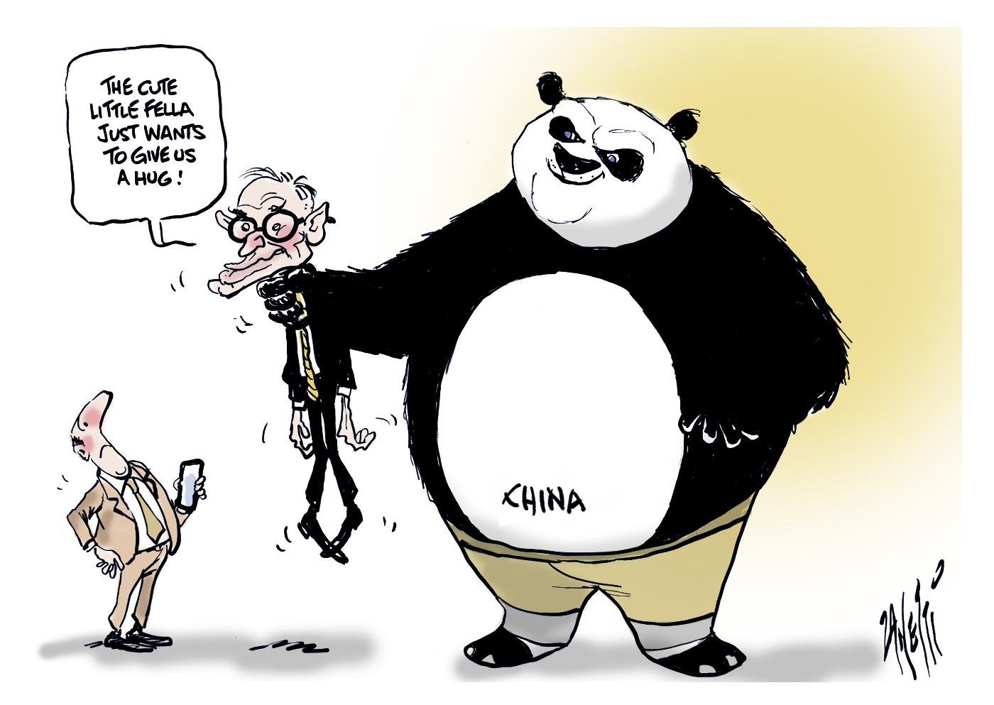Bob Carr and China