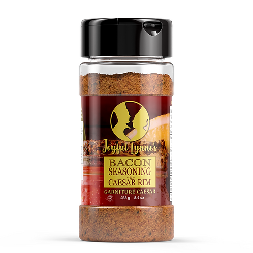 Gourmet Bacon Seasoning + Caesar Rim - 8.4 oz Shaker