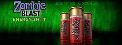 Zombie Blast Energy Shot