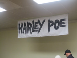 Harley Poe is about to begin!