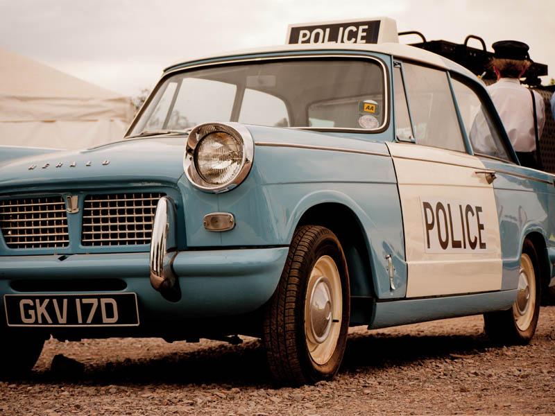 trimph police car