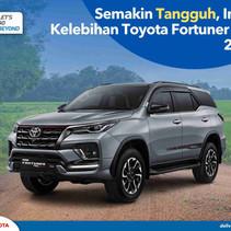 Semakin Tangguh, Inilah Kelebihan Toyota Fortuner VRZ 2021