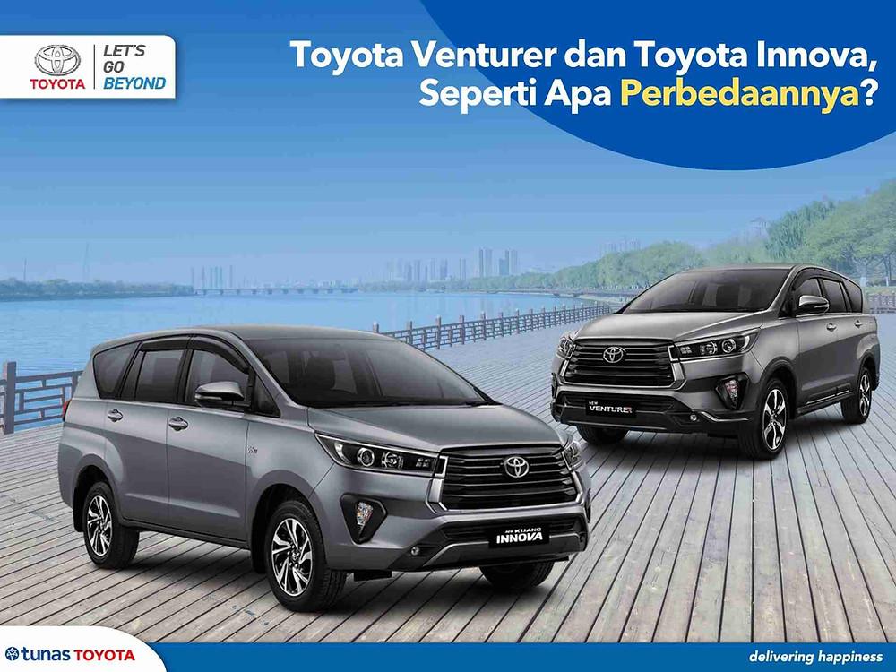 Toyota Innova dan Toyota Venturer