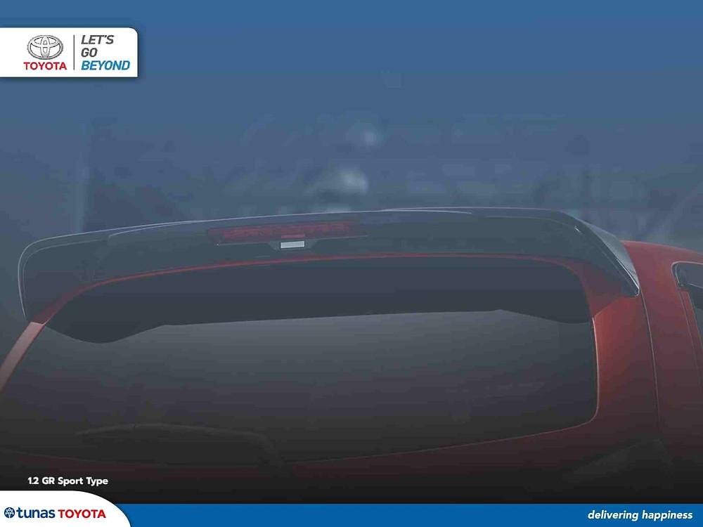 Spoiler Toyota Agya 2021