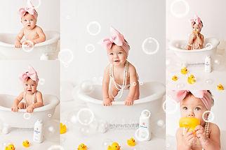 Bubble Mini Collage