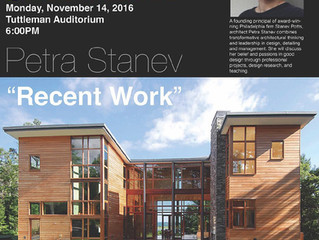 Petra Stanev to lecture at Philadelphia University, November 14