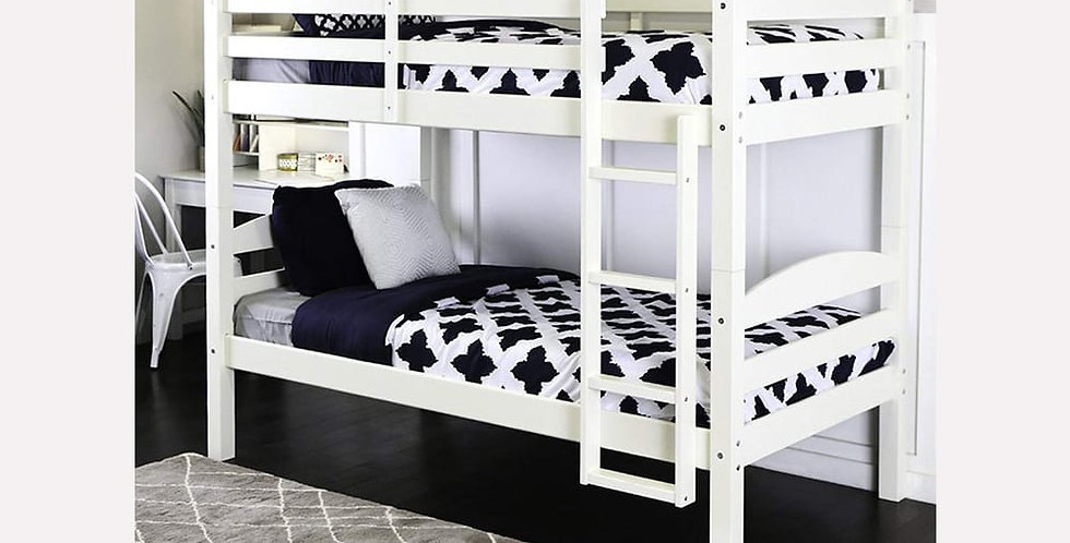 Justine Twin Over Twin Bunk Bed