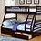 Thumbnail: Samantha Twin Over Double Bunk Bed