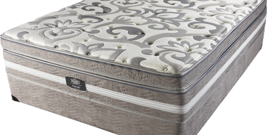 DENALI EURO TOP POCKET COIL MATTRESS SET