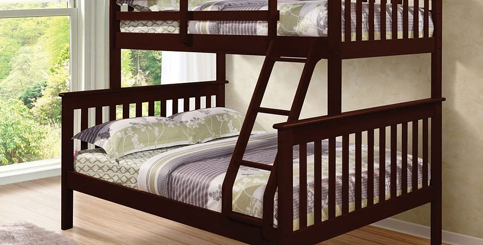 Rebecca Twin Over Double Bunk Bed