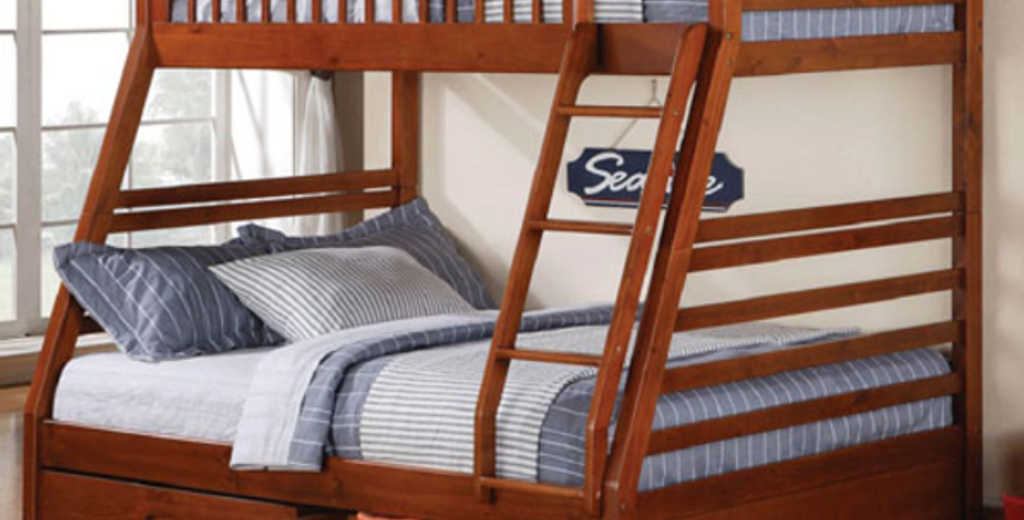 Samantha Twin Over Double Bunk Bed