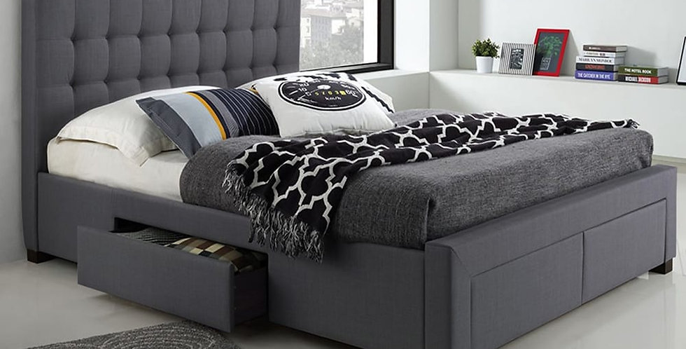 MELINA-2152 PLATFORM BED WITH DRAWERS