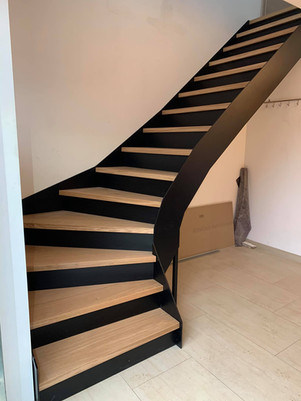 wmw.be wood and metal work escalier bois