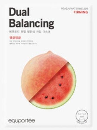 Daul balancing mask (Firming / PEACH, WATERMELON)
