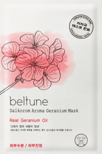Beltune  Dalkorom Aroma Geranium Mask