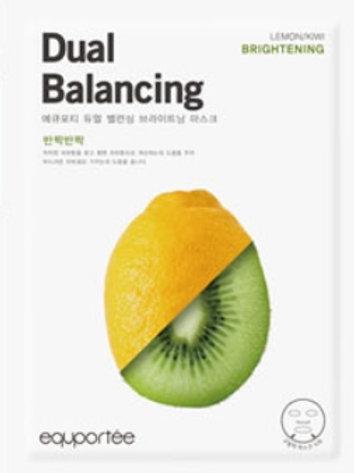 Dual Balancing Mask (Brightening / LEMON, KIWI)