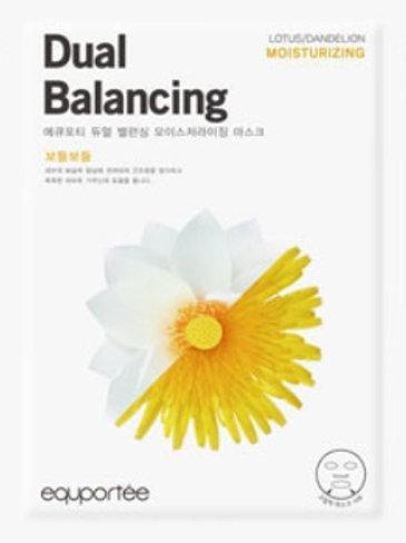 Daul balancing mask (Moisturizing / LOTUS, DANDELION)