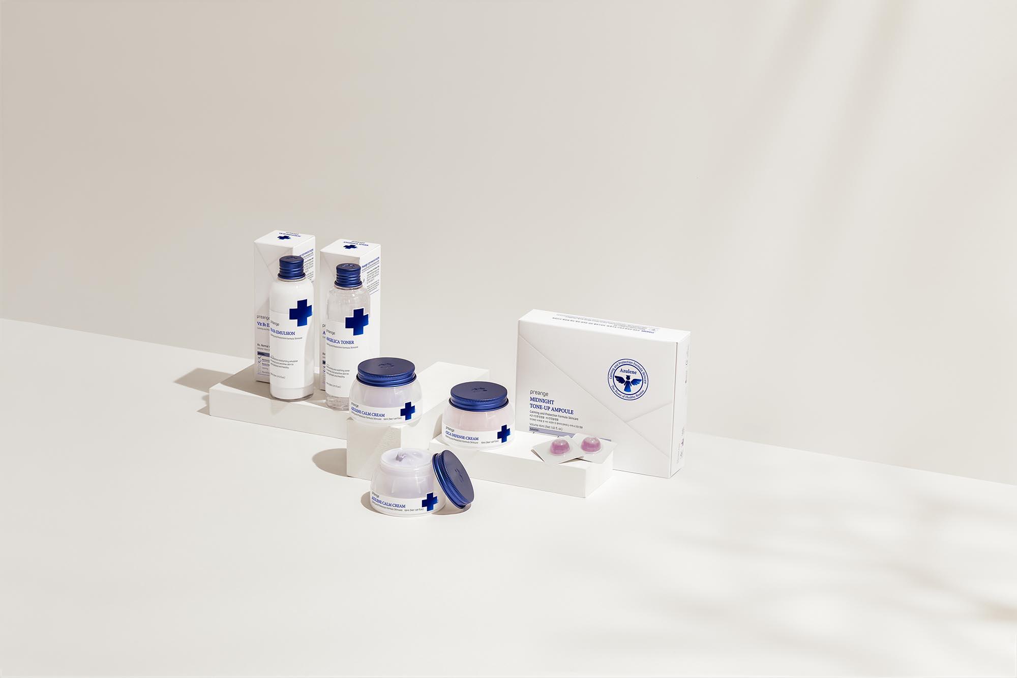 Preange skin-care Line