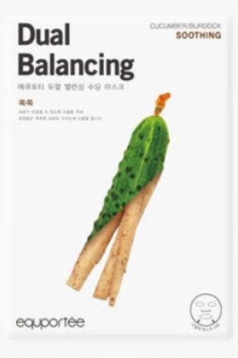 Daul balancing mask (Soothing / CUCUMBER, BURDOCK)