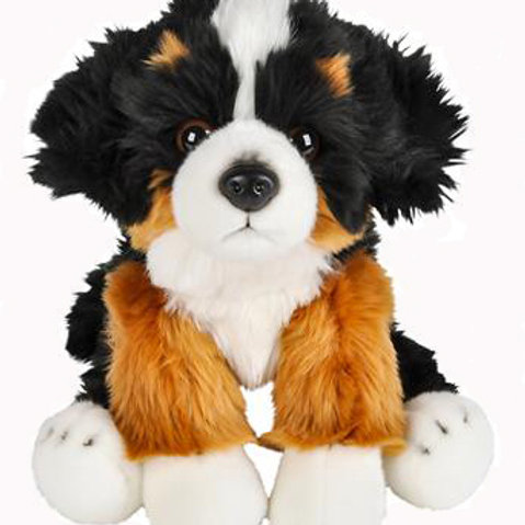 """Charger Finds A Home - 12"""" """"Floppy"""" Charger stuffed animal"""