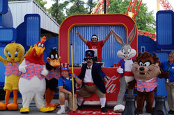 Coca Cola's 4th of July Weekend at Six Flags Over GA