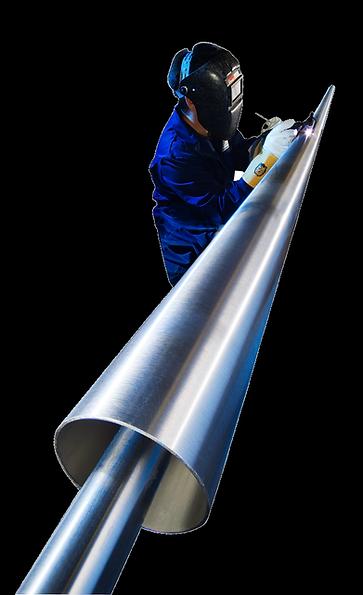 vacuum insulated pipe welding