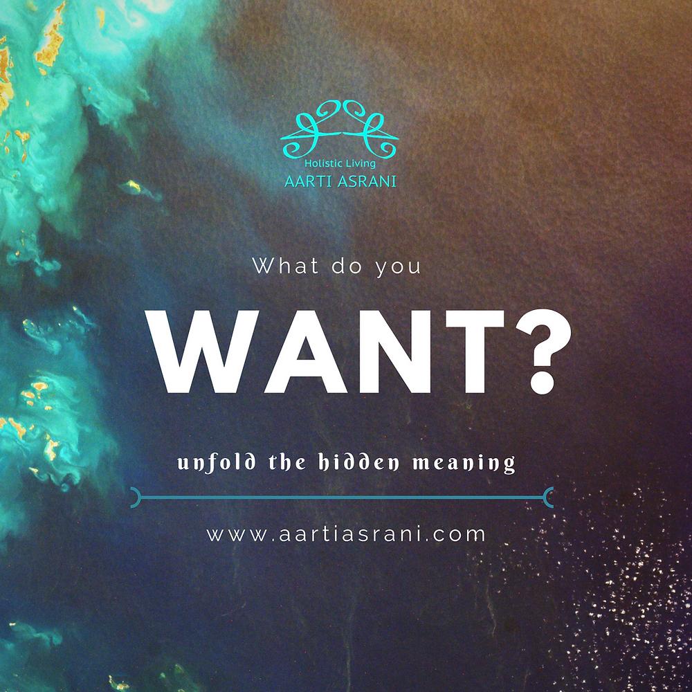 I WANT - Aarti Asrani