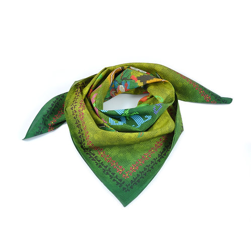 WICKED Silk & Cotton Scarf