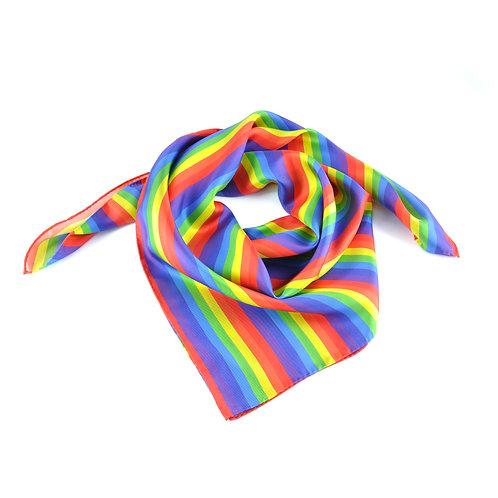 NHS Rainbow Square Scarf