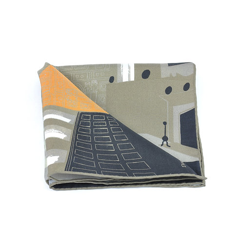Knole Great Hall Pocket Square