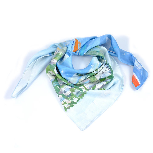 Salcombe Square Scarf