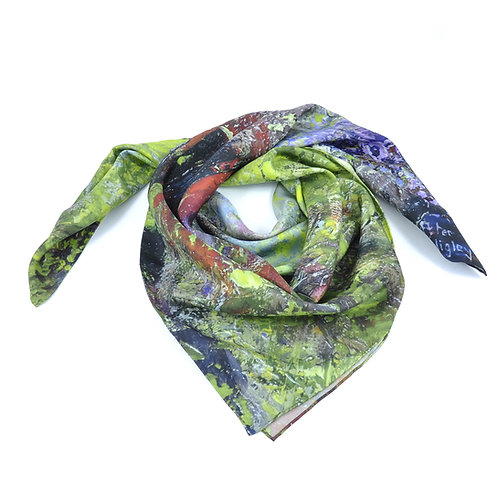 Bluebell Wood Square Scarf