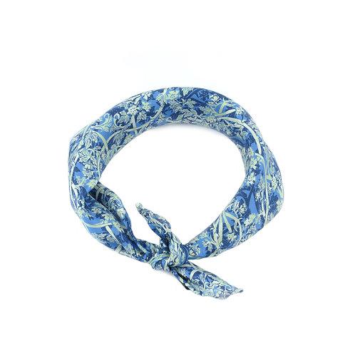 Blue Roses Ladies Neckerchief