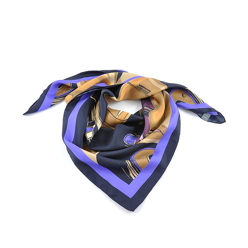 Golden Arrow Square Scarf