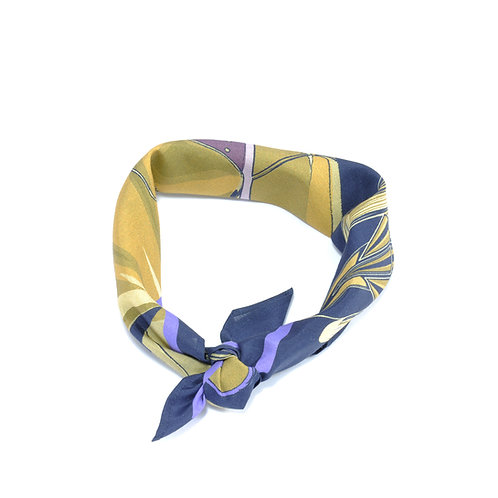 Golden Arrow Silk & Cotton Neckerchief